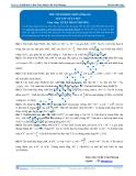 Luyện thi Đại học Kit 1 - Môn Toán: Thể tích khối chóp Phần 04 (Bài tập tự luyện)