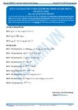 Luyện thi Đại học Kit 1 - Môn Toán Bài 17: Các dạng toán cơ bản giải phương trình logarit (Phần 4)
