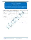 Luyện thi Đại học Kit 1 - Môn Toán: Các vấn đề về góc Phần 01 (Bài tập tự luyện)