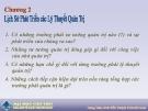 Bài giảng Quản trị học: Chương 2 - Nguyễn Phạm Thanh Nam