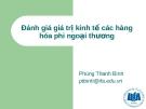 Bài giảng Phân tích lợi ích chi phí: Bài 7 - ThS. Phùng Thanh Bình