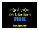 Bài giảng Hộp số tự động điều khiển điện tử U151E