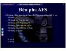 Bài giảng Hệ thống điện thân xe Camry 2007: Đèn pha AFS