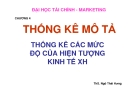 Bài giảng Nguyên lý thống kê: Chương 4 - ThS. Ngô Thái Hưng