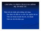 Bài giảng Phân tích và lập dự án đầu tư: Chương 6 - ThS.Trần Thùy Linh