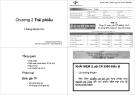 Bài giảng Định chế tài chính: Chương 2 - Lê Nguyễn Quỳnh Hương