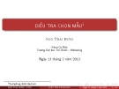 Bài giảng Nguyên lý thống kê: Chương 7 - ThS. Ngô Thái Hưng