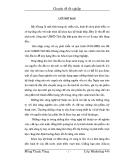 Chuyên đề tốt nghiệp: Các giải pháp xúc tiến, khuếch trương nhằm thu hút các nguồn vốn đầu tư vào Khu Công Nghiệp Song Khê - Nội Hoàng tỉnh Bắc Giang