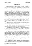 Chuyên đề tốt nghiệp: Một số giải.pháp Marketing hoàn thiện xuất khẩu nông sản sang thị trường khu vực Châu ÁThái Bình Dương của Công ty kinh doanh Xuất nhập khẩu Việt - Lào