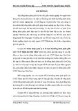 Chuyên đề tốt nghiệp: Quản lý và phân phối sản phẩm của công ty cổ phần bánh kẹo Hải Châu