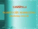 Bài giảng Marketing căn bản: Chương 4 - ĐH Kinh tế Tp.HCM