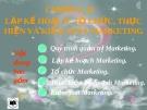 Bài giảng Marketing căn bản: Chương 10 - ĐH Kinh tế Tp.HCM