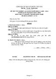 Đề thi & đáp án lý thuyết Quản trị mạng máy tính năm 2012 (Mã đề LT1)