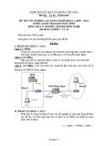Đề thi & đáp án lý thuyết Quản trị mạng máy tính năm 2012 (Mã đề LT50)