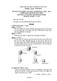 Đề thi & đáp án lý thuyết Quản trị mạng máy tính năm 2012 (Mã đề LT6)