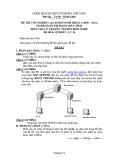 Đề thi & đáp án lý thuyết Quản trị mạng máy tính năm 2012 (Mã đề LT16)