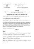 Quyết định 1164/QĐ-BNN-TY năm 2014