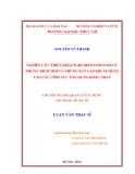 Luận văn thạc sĩ: Nghiên cứu triển khai nghị định 15/2013/NĐ-CP, những điểm mới và những bất cập khi áp dụng vào các lĩnh vực xây dựng khác nhau