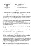 Quyết định 2690/QĐ-BNN-KHCN năm 2013