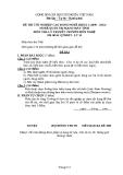 Đề thi & đáp án lý thuyết Quản trị mạng máy tính năm 2012 (Mã đề LT14)