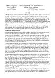 Chỉ thị 34/CT-UBND năm 2013