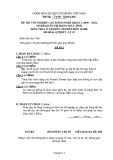 Đề thi & đáp án lý thuyết Quản trị mạng máy tính năm 2012 (Mã đề LT5)