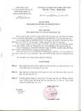Quyết định 223/QĐ-STTNSV