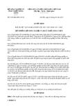 Quyết định số 2135/QĐ-BNN-TCTL năm 2013