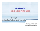 Bài giảng Công nghệ phần mềm: Chương 1 - ThS. Nguyễn Khắc Quốc