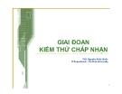 Bài giảng Quản lý dự án công nghệ thông tin: Chương 7 - ThS. Nguyễn Khắc Quốc