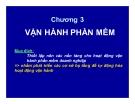 Bài giảng Phát triển vận hành và bảo trì phần mềm - Chương 3