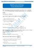 Luyện thi Đại học Kit 1 - Môn Toán Hình học giải tích trong không gian: Kiến thức cơ bản cần nhớ_P2 (Hướng dẫn giải bài tập tự luyện)