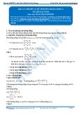 Luyện thi Đại học Kit 1 - Môn Toán: Lý thuyết cơ sở về đường thẳng_P1 (Tài liệu bài giảng)