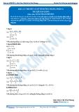 Luyện thi Đại học Kit 1 - Môn Toán: Lý thuyết cơ sở về đường thẳng_P2 (Tài liệu bài giảng)
