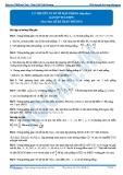 Luyện thi Đại học Kit 1 - Môn Toán: Lý thuyết cơ sở về mặt phẳng tiếp theo (Bài tập tự luyện)