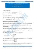 Luyện thi Đại học Kit 1 - Môn Toán: Lý thuyết cơ sở về đường thẳng (bài tập tự luyện)