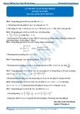 Luyện thi Đại học Kit 1 - Môn Toán: Lý thuyết cơ sở về mặt phẳng (Bài tập tự luyện)