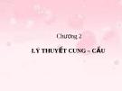 Bài giảng Kinh tế vi mô: Chương 2 - Nguyễn Thị Thu