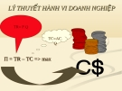 Bài giảng Kinh tế vi mô: Chương 4 - Nguyễn Thị Thu