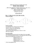 Đề thi thực hành May & thiết kế thời trang năm 2011 (Mã đề TH45)