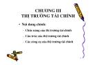 Bài giảng Lý thuyết tài chính tiền tệ: Chương 3 - ThS. Trần Thùy Linh