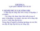 Bài giảng Quản trị sản xuất - Chương 6: Lập lịch trình sản xuất