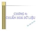 Bài giảng Hệ quản trị cơ sở dữ liệu: Chương 4 - ThS. Trần Văn Ước