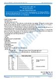 Luyện thi Đại học Kit 1 - Môn Hóa: Đại cương Hóa hữu cơ (Tài liệu bài giảng)