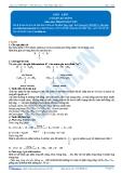 Luyện thi Đại học Kit 1 - Môn Hóa: Este - Lipit (Tài liệu bài giảng)