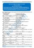 Cấu tạo nguyên tử và bảng tuần hoàn (Bài tập tự luyện)