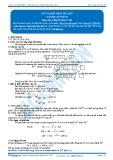 Luyện thi Đại học Kit 1 - Môn Hóa: Sắt và hợp chất của sắt (Tài liệu bài giảng)