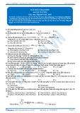 Luyện thi Đại học Kit 1 - Môn Hóa: Dẫn xuất Halogen (Bài tập tự luyện)