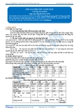 Luyện thi Đại học Kit 1 - Môn Hóa: Kim loại kiềm thổ và hợp chất (Tài liệu bài giảng)