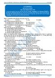 Luyện thi đại học Kit-1 môn Hóa: Cacbohiđrat (Bài tập tự luyện)